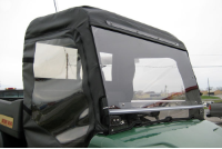 Bush Hog Trail Hand Folding Lexan Windshield