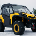 CAN-AM Commander Full Cab Enclosure to fit Hard Windshield