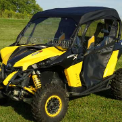 CAN-AM MAVERICK Full Cab Enclosure to fit Hard Windshield