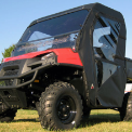 CF Moto U-Force Full Cab Enclosure with AeroVent Windshield