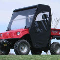 Brister's Chuck Wagon Full Cab Enclosure for OEM Windshield