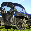 CFMOTO Z-FORCE Full Cab Enclosure with AeroVent Hard Windshield