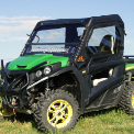 John Deere RSX850i Full Cab Enclosure with Aero-Vent Windshield