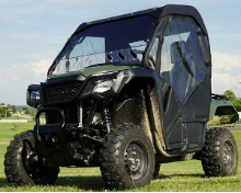 Honda PIONEER 500 Full Cab Enclosure with Aero-Vent Hard Windshield
