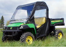 John Deere Gator Full Cab Enclosure with Aero-Vent Windshield