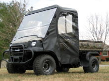 Kawasaki Mule 3000–3010 Full Cab Enclosure to fit your Hard Windshield