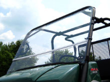Kawasaki 3010 TRANS FOLDING Hard Polycarbonate Windshield