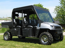 Polaris Crew Mini Cab Enclosure with Vinyl Windshield