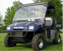 Polaris Ranger Full Cab Enclosure with Aero-Vent Polycarbonate Windshield