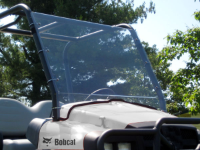 Bob Cat 2200/2300 Full Lexan Windshield
