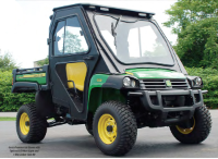John Deere Gator HPX/XUV HARD Full Cab Enclosure with Safety Glass Windshield