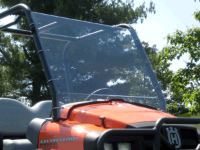 Club Car 1550 Full Hard Lexan Windshield