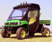John Deere Gator HPX XUV Doors Rear Window Combo