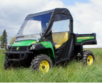 John Deere Gator 625i 825i 855d Full Cab Enclosure with Aero-Vent Windshield
