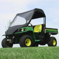 John Deere Gator Vinyl Windshield Top Combo
