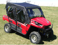 Kawasaki TERYX 4 Full Cab with AeroVent Windshield