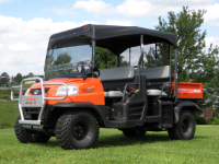 Kubota RTV1140 FOLDING Windshield and Top Combo