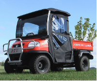 Kubota RTV900 Doors Rear Window Combo