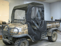 Kubota RTV900 UTV Full Cab Enclosure with Hard Lexan Windshield