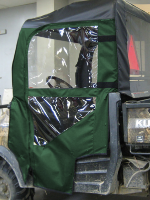 Kubota RTV500 Soft Doors Kit | UTVcabEnclosures.com
