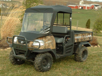 Kubota RTV900 Windshield Top Combo