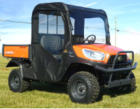Kubota RTV X900 UTV Full Cab Enclosure with AeroVent Polycarbonate Windshield