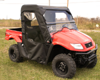 Kymco UXV500 Full Cab Enclosure to fit Hard Windshield