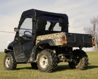 Massimo 500 Full Cab Enclosure with Aero-Vent Windshield