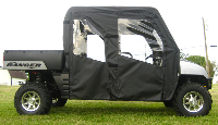 Polaris CREW Soft Doors Rear Window Combo