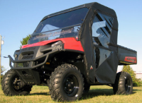 Polaris Ranger 4x4 XP HD Full Cab Enclosure with AeroVent Hard Windshield