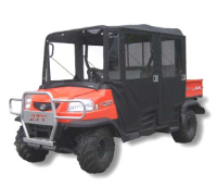 Kubota RTV1140 Full Cab Enclosure with Steel Door Frames