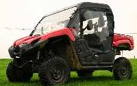 Yamaha VIKING Full Cab Enclosure with Aero-Vent Windshield
