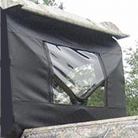 Polaris RZR 800 Rear Window