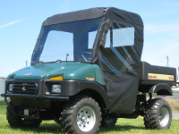 Bush Hog Trail Hand AeroVent Hard Polycarbonate Windshield