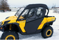 Can-Am MAVERICK Doors Rear Window Combo