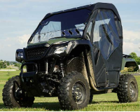 Honda Pioneer 500 FULL CAB Enclosure to fit HARD Windshield