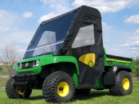 John Deere Gator TS, TX and Turf Gator Full Cab with Hard Windshield