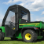 John Deere Gator TS, TX and Turf Gator Full Cab to fit Hard Windshield-passenger door view