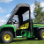 John Deere Gator TS, TX and Turf Gator Full Cab to fit Hard Windshield-passenger door open