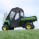Deere Gator Full Cab Enclosure with Folding Hard Windshield