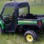 John Deere Gator Full Cab Enclosure with Arep-Vent Windshield-rear view