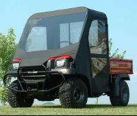Kawasaki Mule 3010 Full Cab Enclosure With Vinyl Windshield