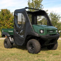 Kawasaki Mule 4010 Doors Rear Window Combo