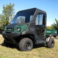 Kawasaki Mule 4010 Full Cab Enclosure W Vinyl Windshield