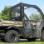 Kawasaki Mule 600-610 Doors Rear Window Combo-doors closed