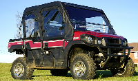 Kawasaki Mule ProFxt Full Cab with AeroVent Windshield