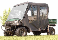 Kawasaki 3010 TRANS Full Cab Enclosure with FOLDING Hard Windshield
