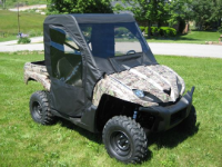 Kawasaki TERYX 750 4x4 Full Cab Enclosure with Vinyl Windshield