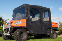 Kubota RTV1140 Full Cab Enclosure with Aero-Vent Hard Windshield