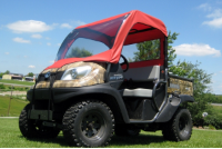 Kubota RTV500 Mini Cab Enclosure with Vinyl Windshield